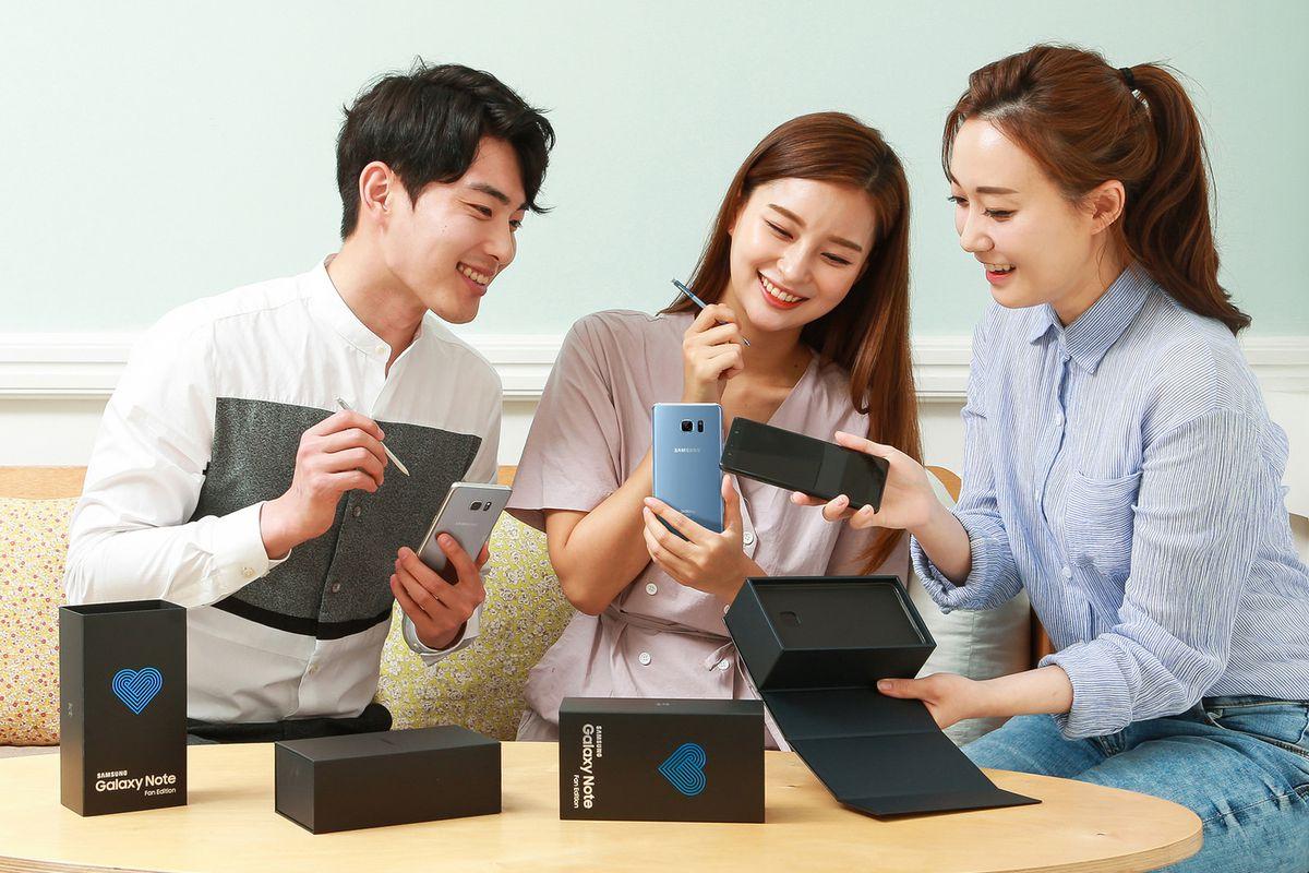 Galaxy Note 7 Fan Edition modelinin rəsmi təqdimatı oldu