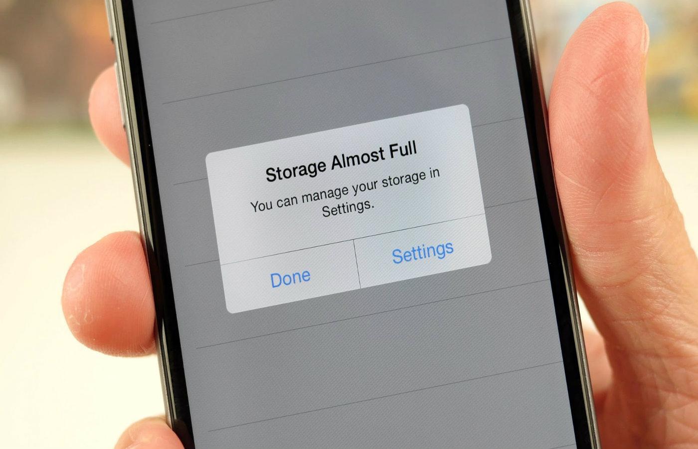 iPhone-un daxili yaddaşı nə üçün tez dolur?
