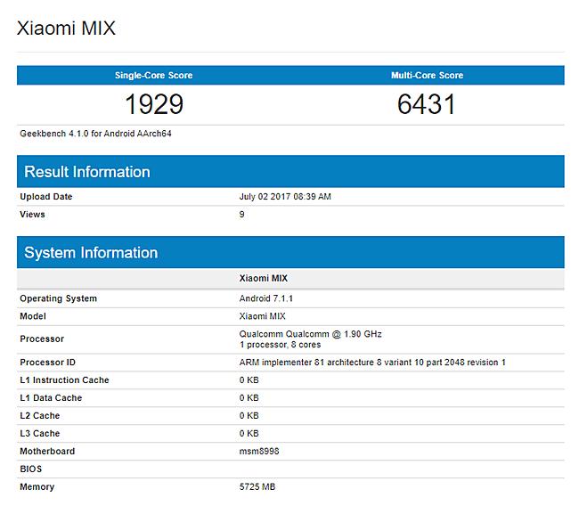 Xiaomi Mi Mix 2 daha möhtəşəm olacaq!