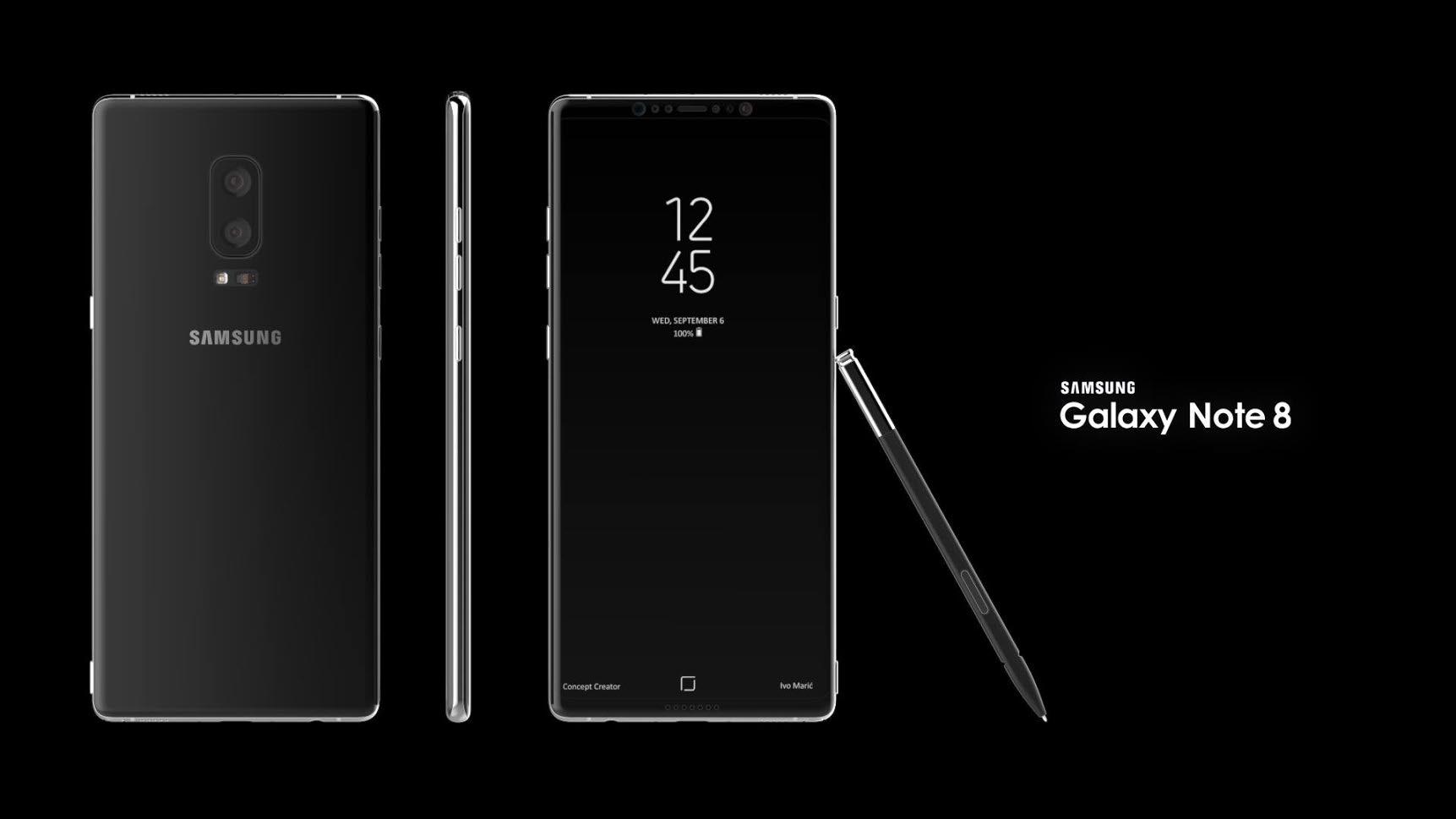 Samsung Galaxy Note 8-in təqdimat tarixi məlum oldu