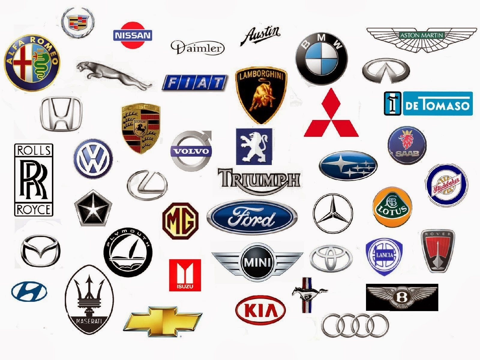 Current Automotive Logos Agcrewall